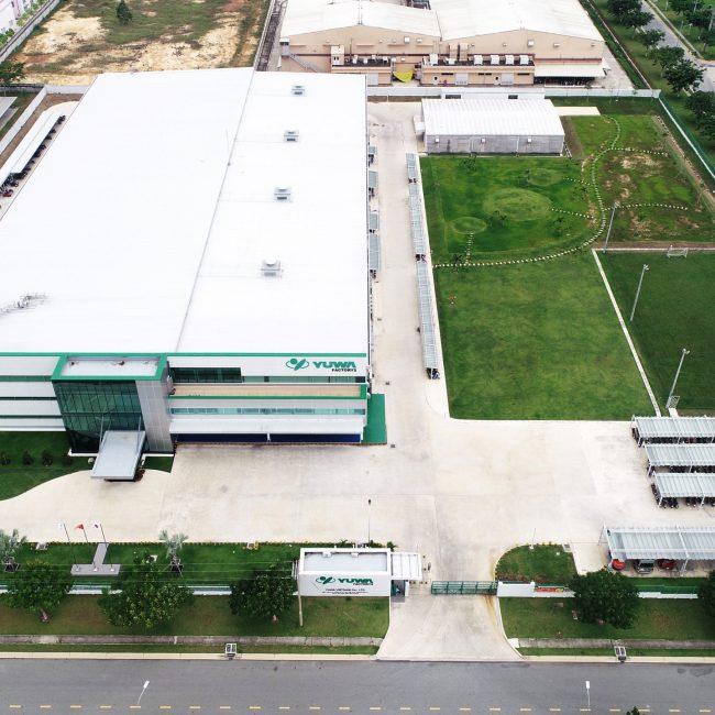 Lê Gia Phúc xây dựng nhà máy khuôn đúc Yuwa