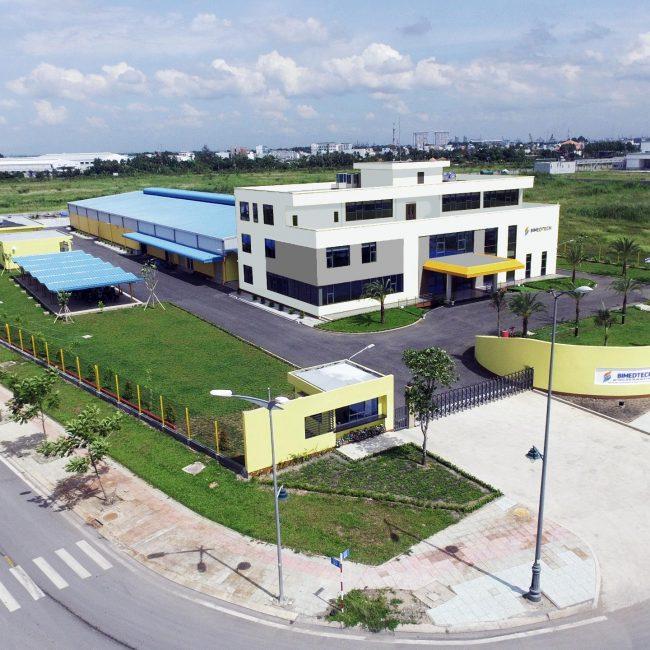 Lê Gia Phúc nhà máy y tê sinh học Bimedtech