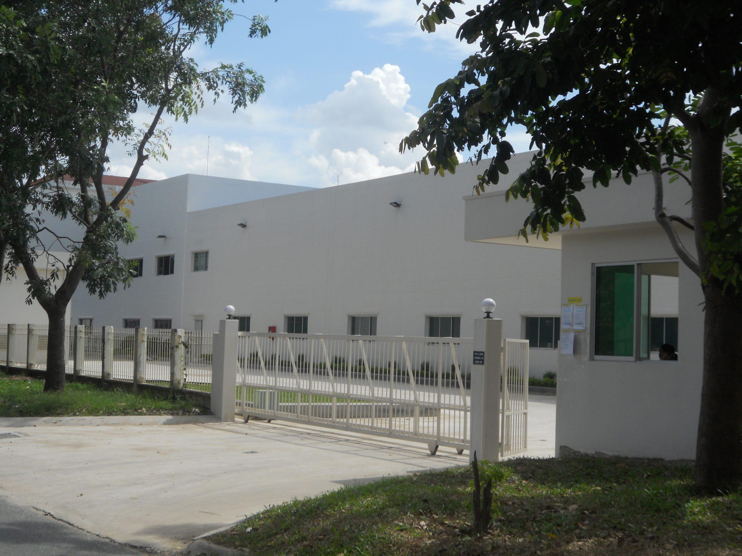 Lê Gia Phúc xây dựng nhà máy thiết bị cơ khí Meinan Vietnam