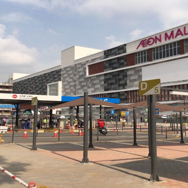 Lê Gia Phúc xây dựng mở rộng trung tâm mua sắm Aeon Mall Tân Phú