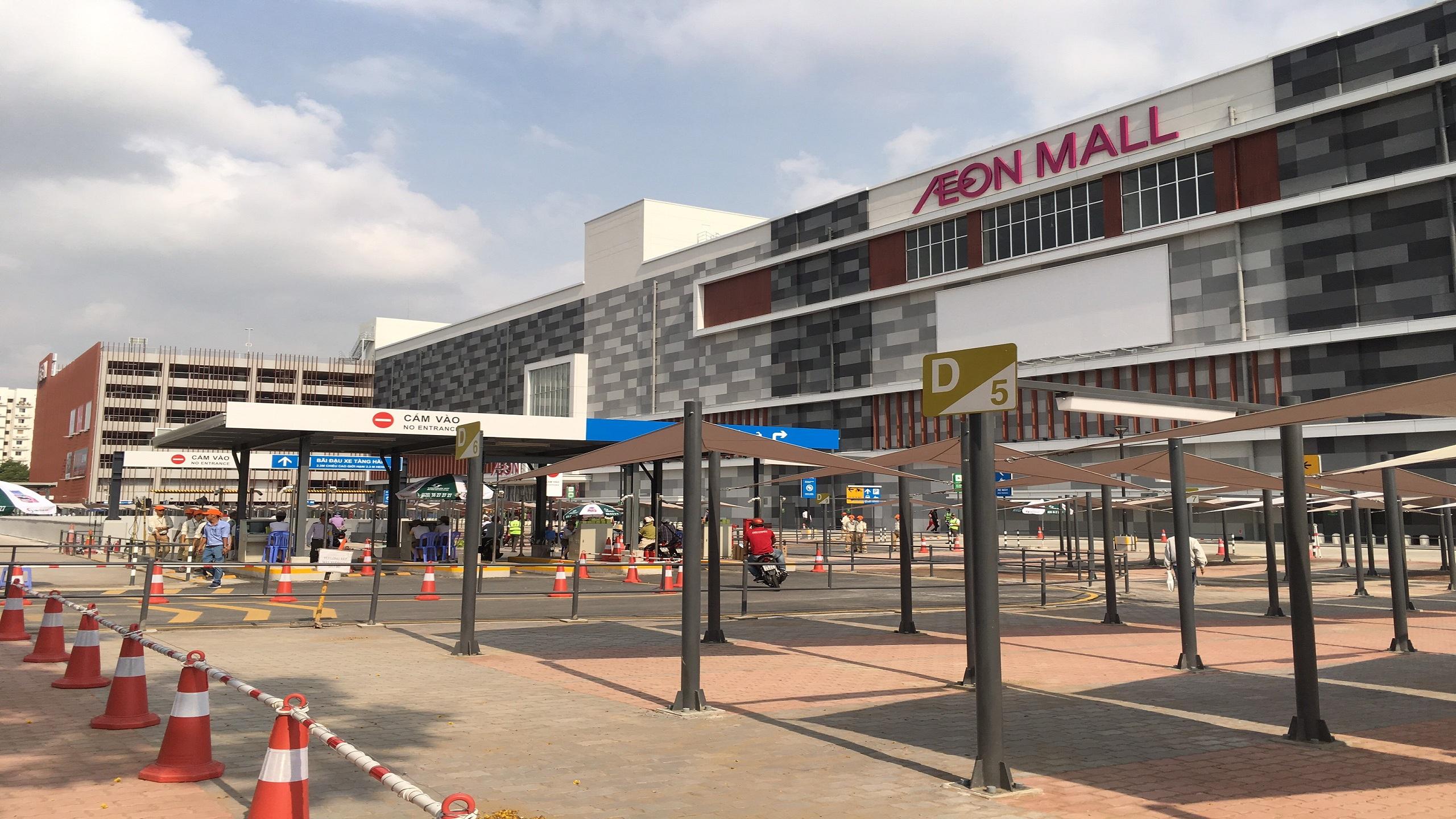 Lê Gia Phúc xây dựng trung tâm mua sắm Aeon Mall Tân Phú