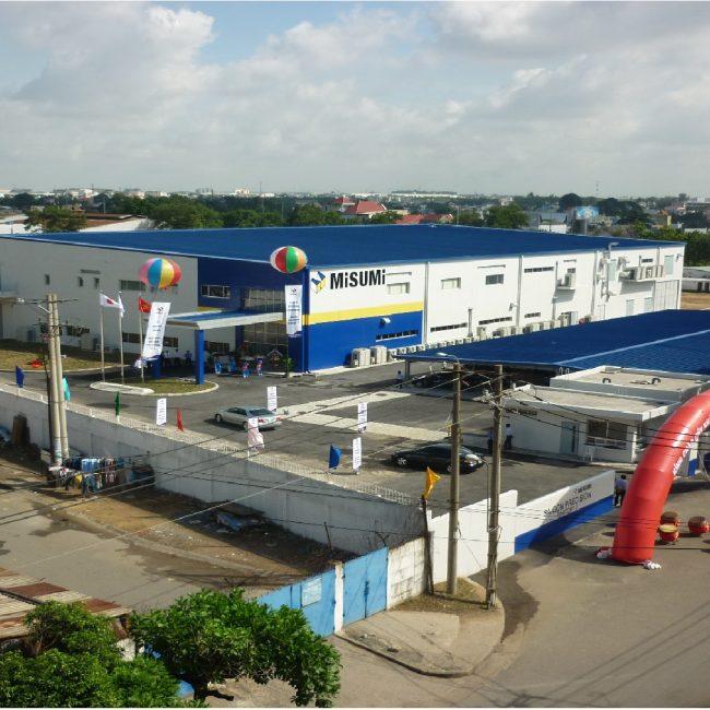 Lê Gia Phúc nhà máy logistics Misumi Saigon Precision