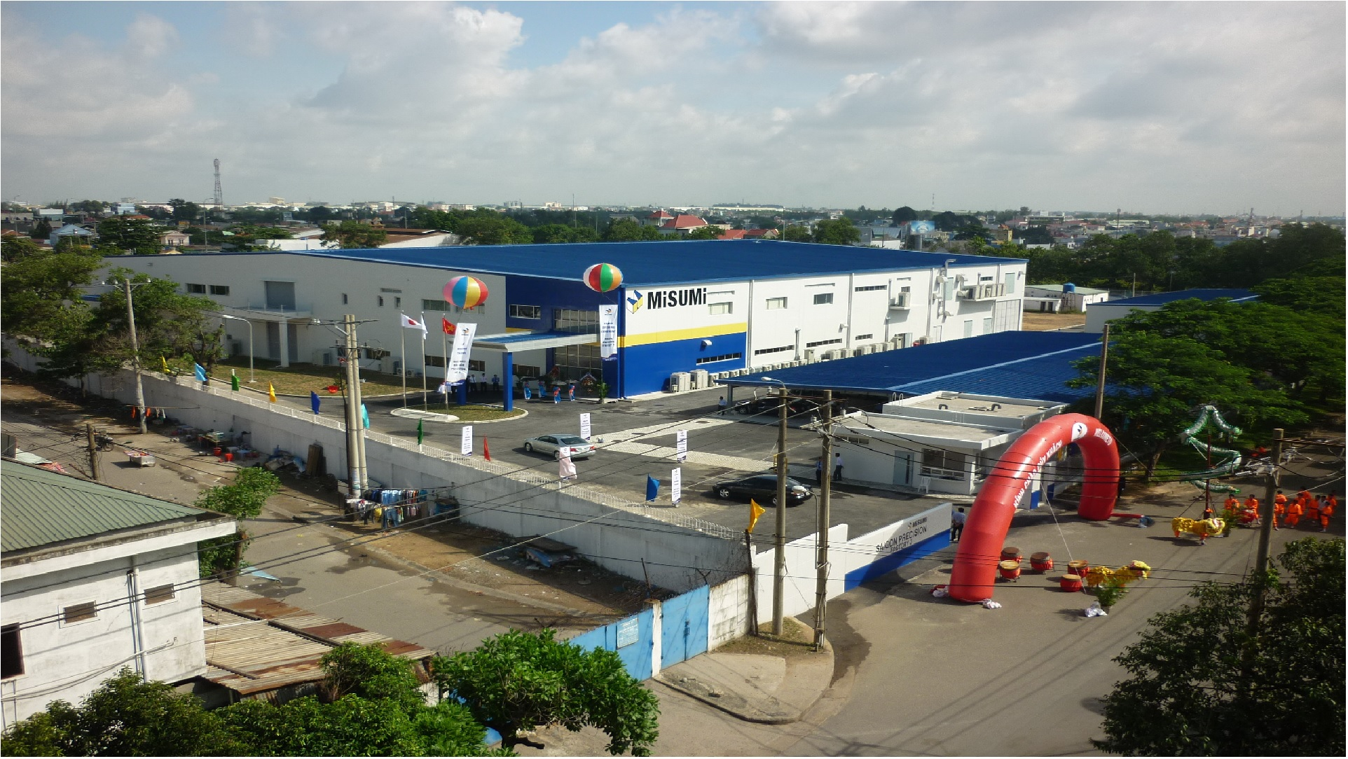 Lê Gia Phúc xây dựng nhà công nghiệp Misumi Saigon Precision