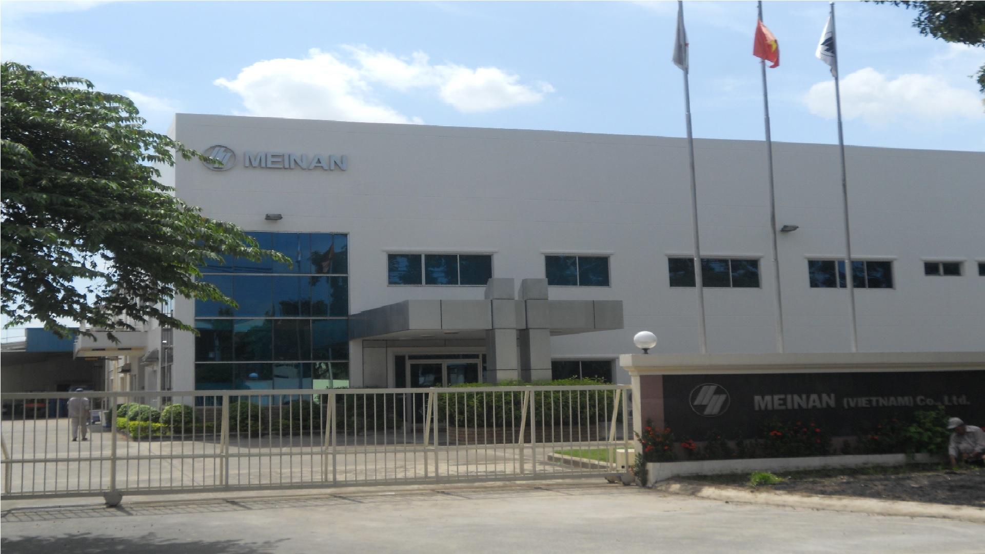 Lê Gia Phúc xây dựng nhà máy công nghiệp Meinan