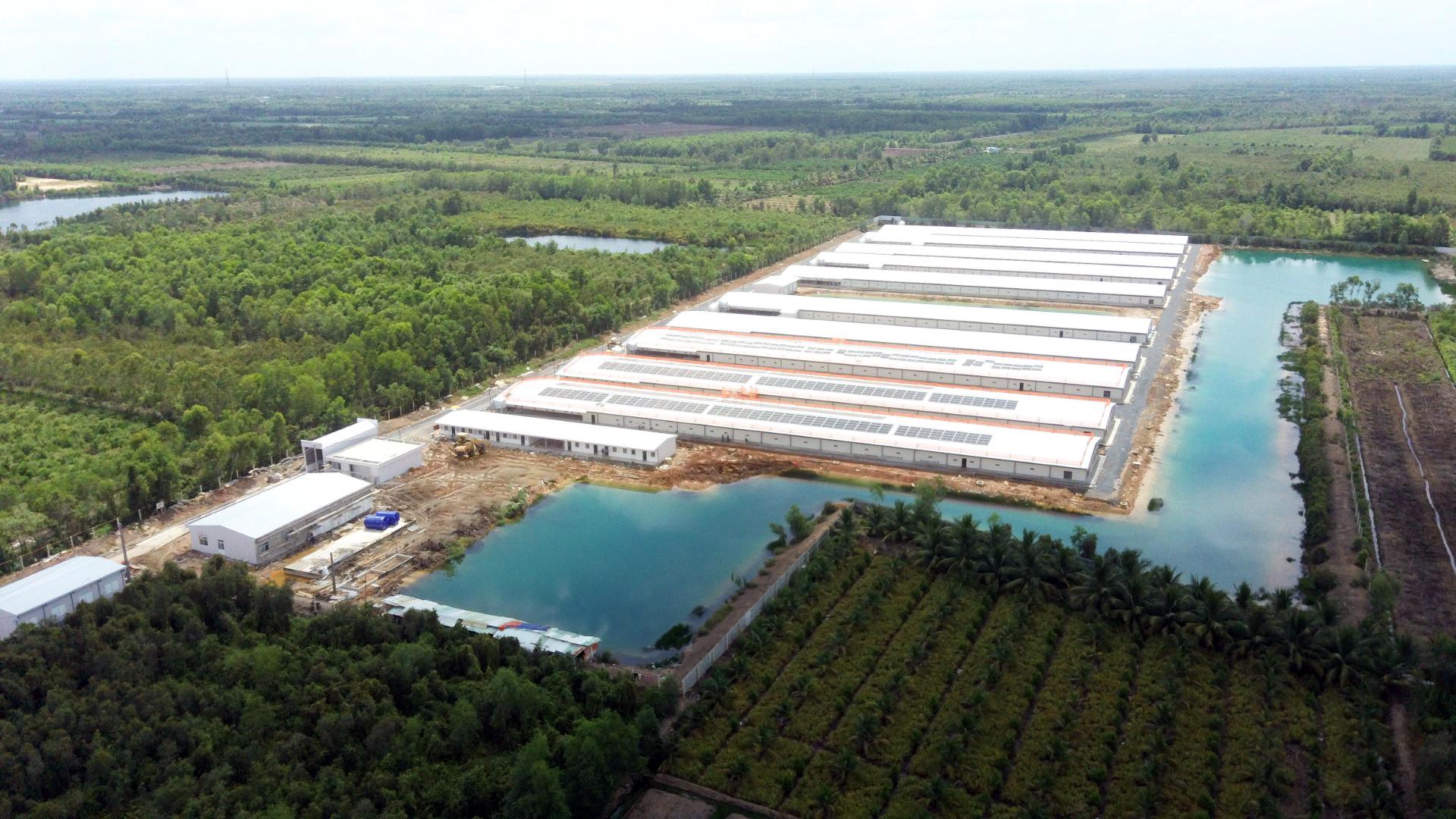 Nhà máy trang trại công nghệ cao San Hà Foods Long An
