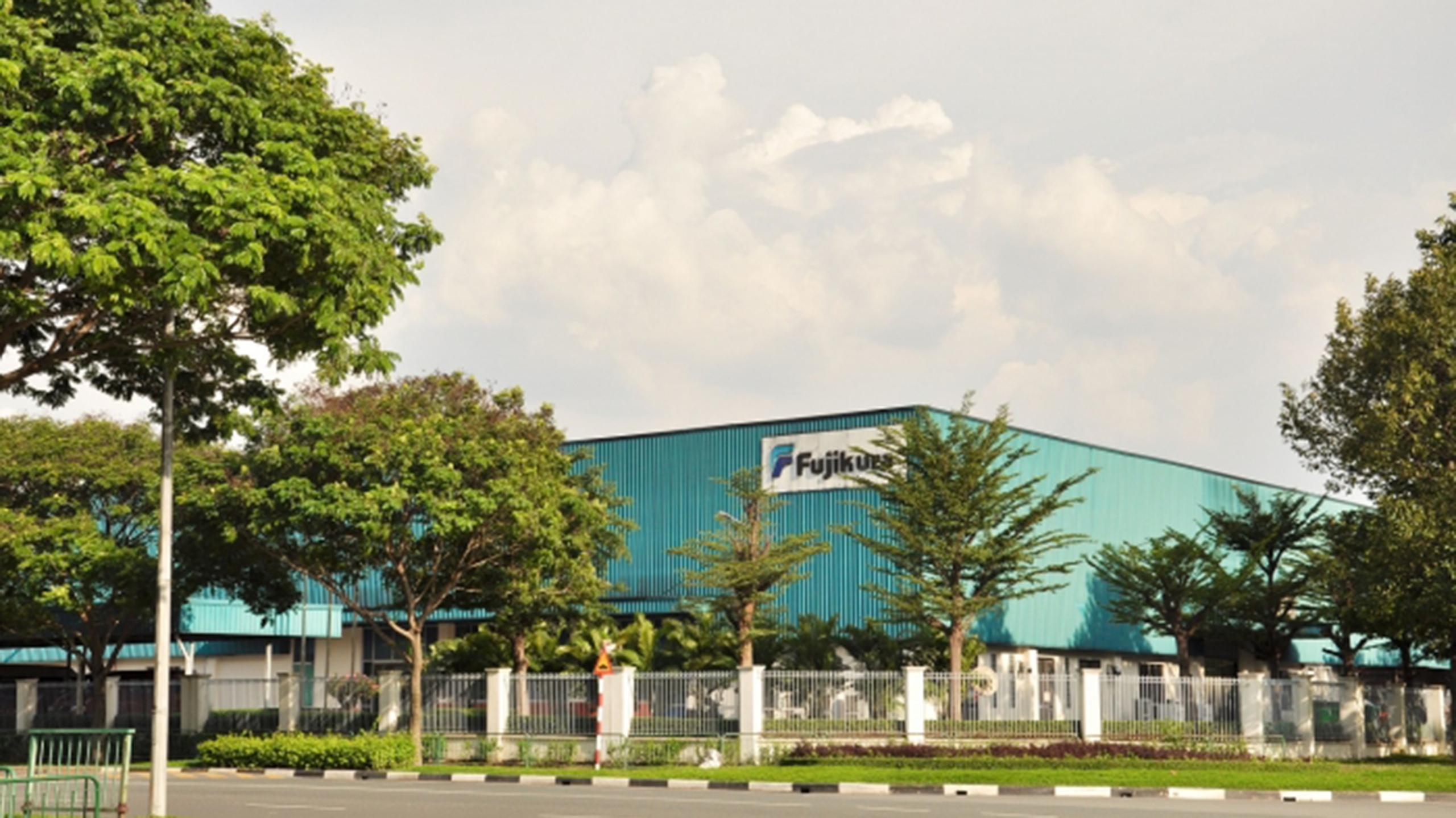 Lê Gia Phúc nhà máy quang học Fujikura