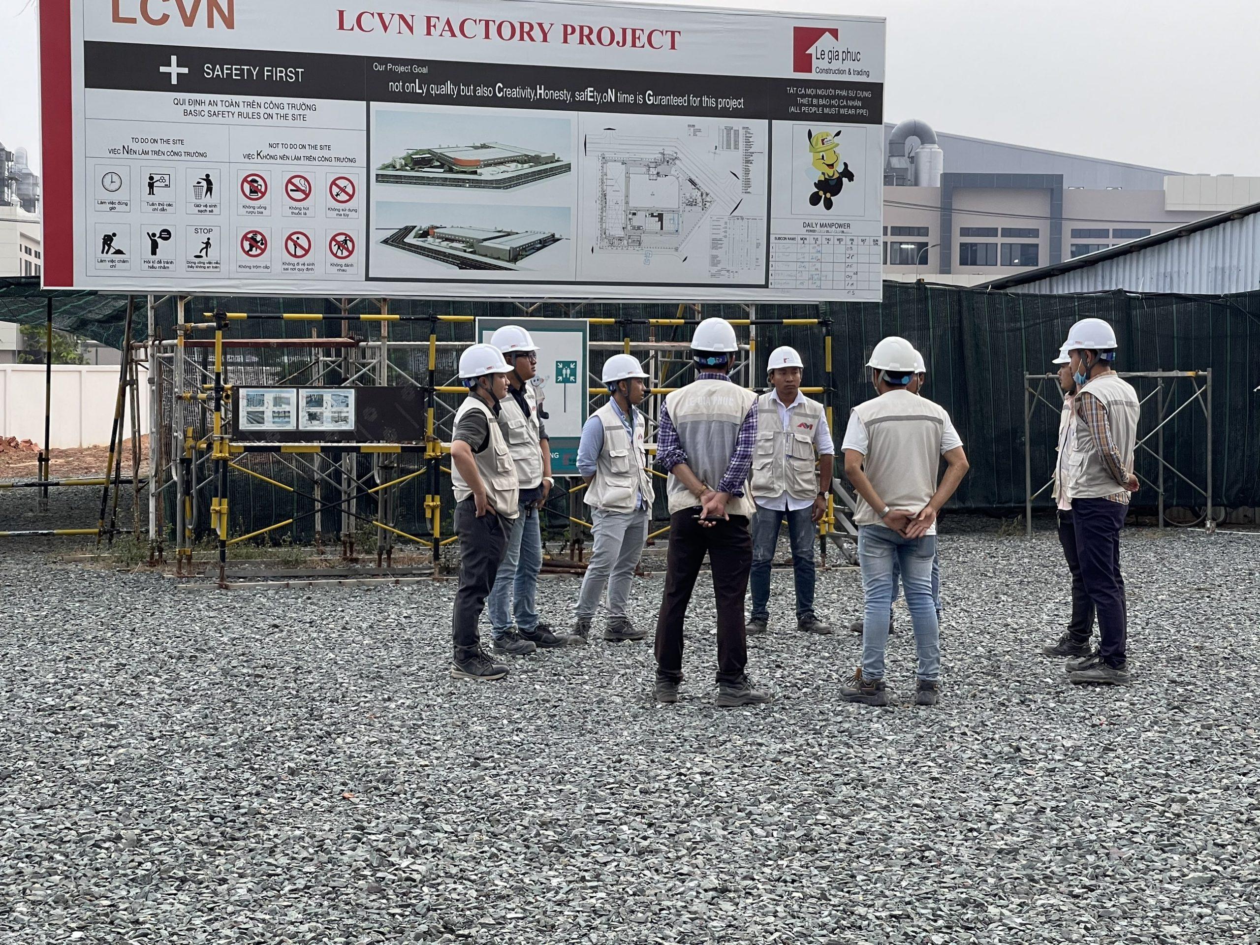 Lê Gia Phúc tuyển dụng kỹ sư kỹ thuật công trình